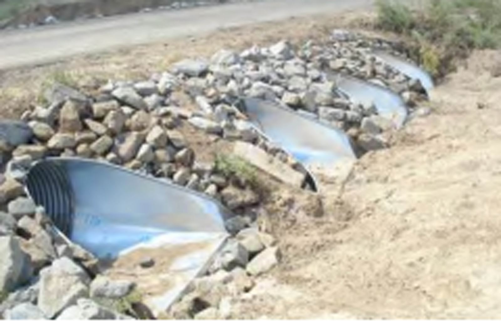 Large water stormwater drainage